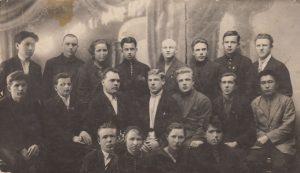 Сов бюро коллектива ВЛКСМ при Тверской окружной совпартии