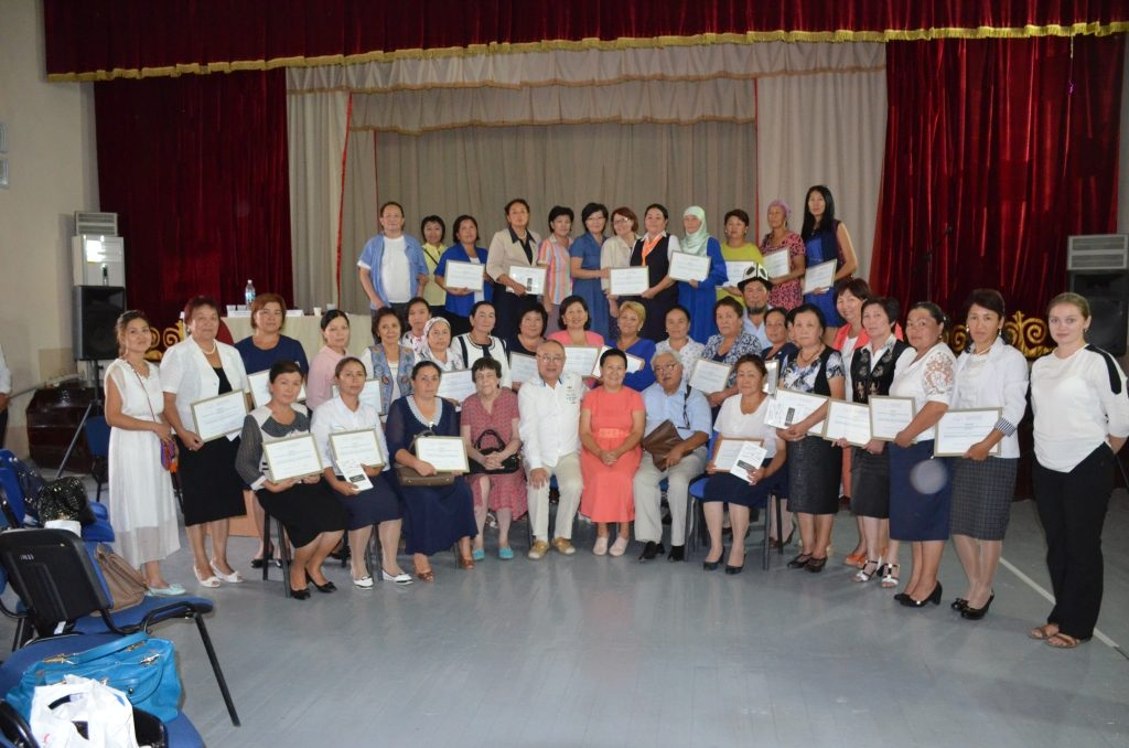 Учителя - участники конкурса, члены жюри и почетные гости