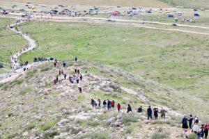 Паломничество на гору в пору цветения Айгуль