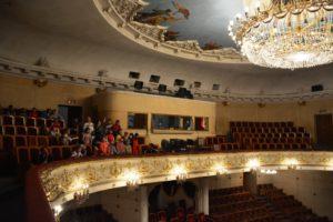 В театре Оперы и Балета им А.Малдыбаева