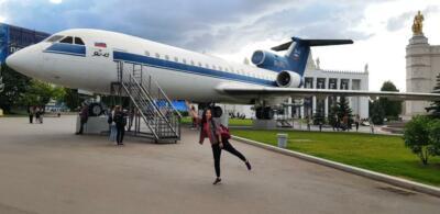 Самолет на ВДНХ