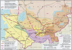 Туркестан - присоединение к Российской империи