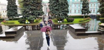 Перед ГМИИ им Пушкина