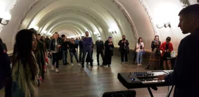 Живая музыка в метро