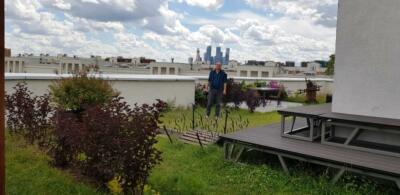 Крыша. Вид на Сити