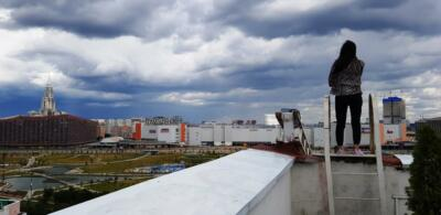 Вид с крыши