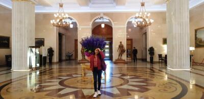 Фойе гостиницы УКРАИНА (Рэдиссон)