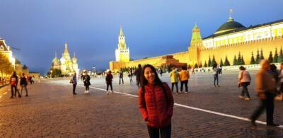 Вид на Кремль со стороны Красной площади