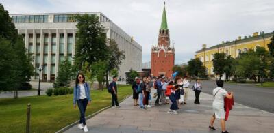 На территории Кремля. Кремлевский концертный зал