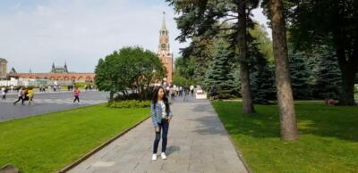 сквер в Кремле