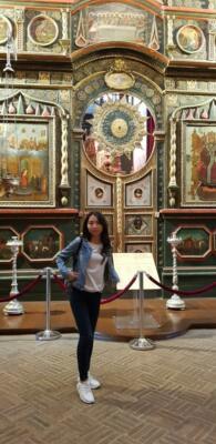 Внутри собора Василия Блаженного