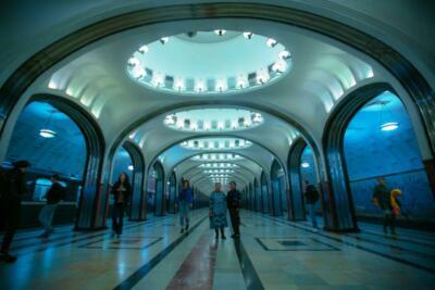 Метронун Маяковская станциясы